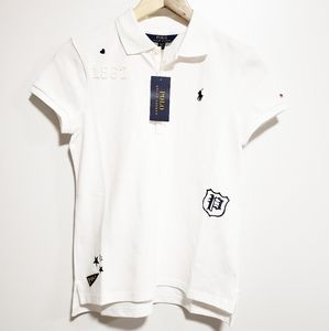 POLO RALPH LAUREN Girls White Polo